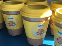 Belvita Sampling bins
