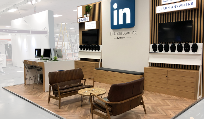Linkedin (with Clive Agency) @ Learning Technologies 2018, Olympia
