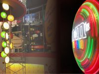 Shop Installation at M&Ms world, Piccadilly Circus, London - with Projection Artworks