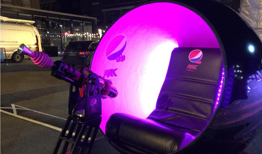 Pepsi Max - Gaming Sphere