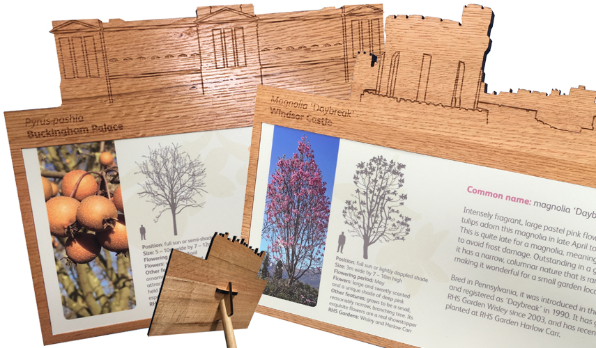 RHS Wisley (bespoke book created and presented to HM Queen Elizabeth II)